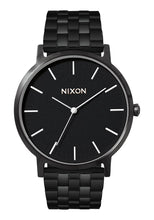 Load image into Gallery viewer, Nixon Watch Porter All Black / White A1057-756