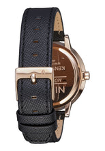 Load image into Gallery viewer, Nixon Watch Kensington Leather Rose Gold / Black A108-1098