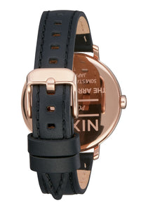Nixon Watch Arrow Leather Rose Gold / White / Black A1091-3026