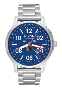 Nixon Watch Ascender Silver / Blue A1208-722