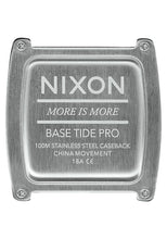 Load image into Gallery viewer, Nixon Watch Base Tide Pro Gray A1212-145