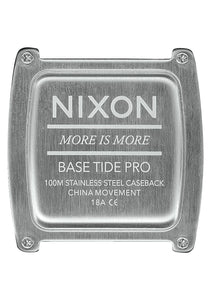 Nixon Watch Base Tide Pro Lime A1212-536