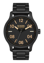 Load image into Gallery viewer, Nixon Watch Patrol Matte Black / Gold A1242-1041
