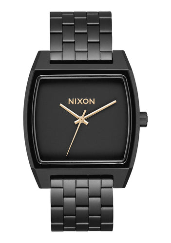 Nixon Watch Time Tracker Matte Black / Gold A1245-1041