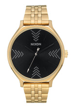 Load image into Gallery viewer, Nixon Watch Clique Gold / Black / Silver A1249-2879