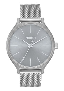 Nixon Watch Clique Milanese All Silver A1289-1920