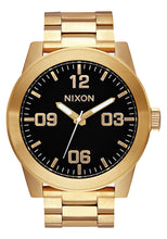 Load image into Gallery viewer, Nixon Watch Corporal SS All Gold / Black A346-510