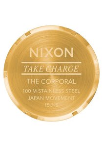 Nixon Watch Corporal SS All Gold / Black A346-510
