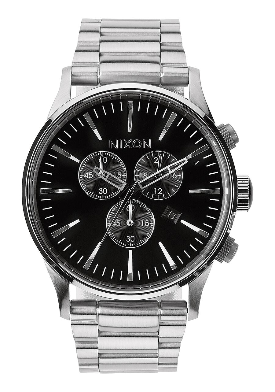 Nixon Watch Sentry Chrono Black A386-000