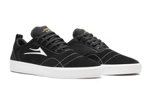 Load image into Gallery viewer, LAKAI MENS BRISTOL BLACK/WHITE SUEDE MS1200249A00-BKWTS