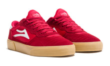 Load image into Gallery viewer, LAKAI MENS CAMBRIDGE RED/GUM SUEDE MS1190252A00-REGUS