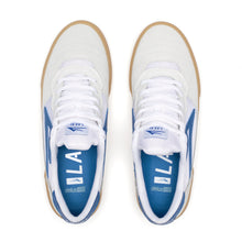 Load image into Gallery viewer, LAKAI MENS CAMBRIDGE WHITE/BLUE SUEDE MS3190252A00-WHBLS