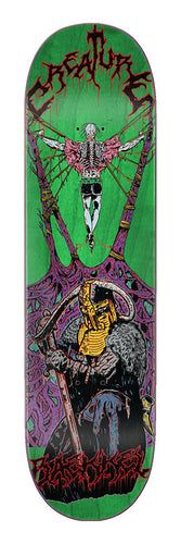 Creature Baekkel Blood Eagle 8.6in x 32.11in Skateboard Deck