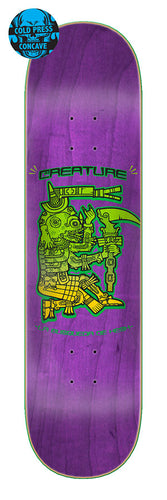 Creature Busqueda De Hesh Cold Press 8.25in x 32.0in Skateboard Deck