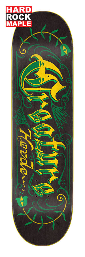 Creature Horde Script Hard Rock Maple 8.25in x 32.04in Skateboard Deck