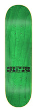 Load image into Gallery viewer, Creature Infernal Method Hard Rock Maple 8.0in x 31.8in Skateboard Deck