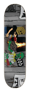 Creature Hitz Bagman vs Larb 8.8in x 32.5in Skateboard Deck