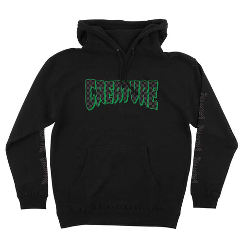 Creature Skateboards Mens Logo Check Pullover Hoodie 44251961