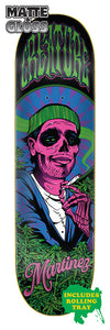Creature Smokers Club Martinez 8.6in x 32.11in Skateboard Deck