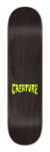 Creature Soul Servant Cold Press 8.375in x 32.15in Skateboard Deck