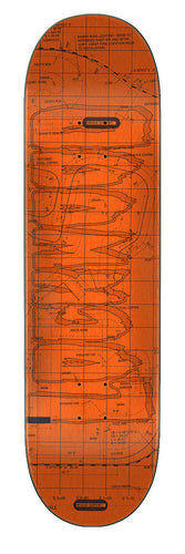 Creature Lockwood Plans Eight Two Five 8.25in x 32.04in Skateboard Deck