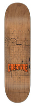 Load image into Gallery viewer, Creature Lockwood Plans Eight Two Five 8.25in x 32.04in Skateboard Deck