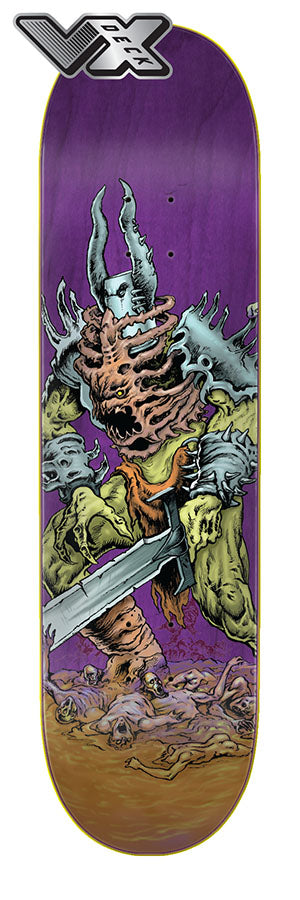 Creature Battalion LG VX Deck 8.8in x 32.5in Skateboard Deck