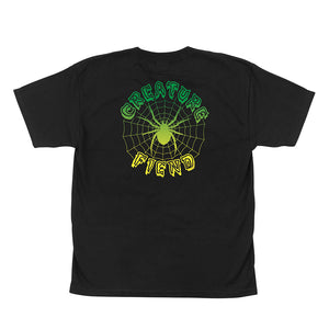 Creature Youth Crypt Web Short Sleeve T-Shirt 44154601
