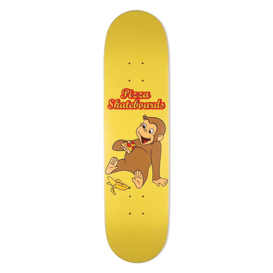 Pizza Curious Deck 8.125 Skateboard Deck