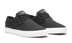 LAKAI MENS DALY BLACK/GREY CANVAS MS3180023A00-BLGRC
