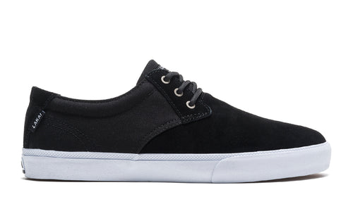 LAKAI MENS DALY BLACK SUEDE MS1190023A00-BLKSD