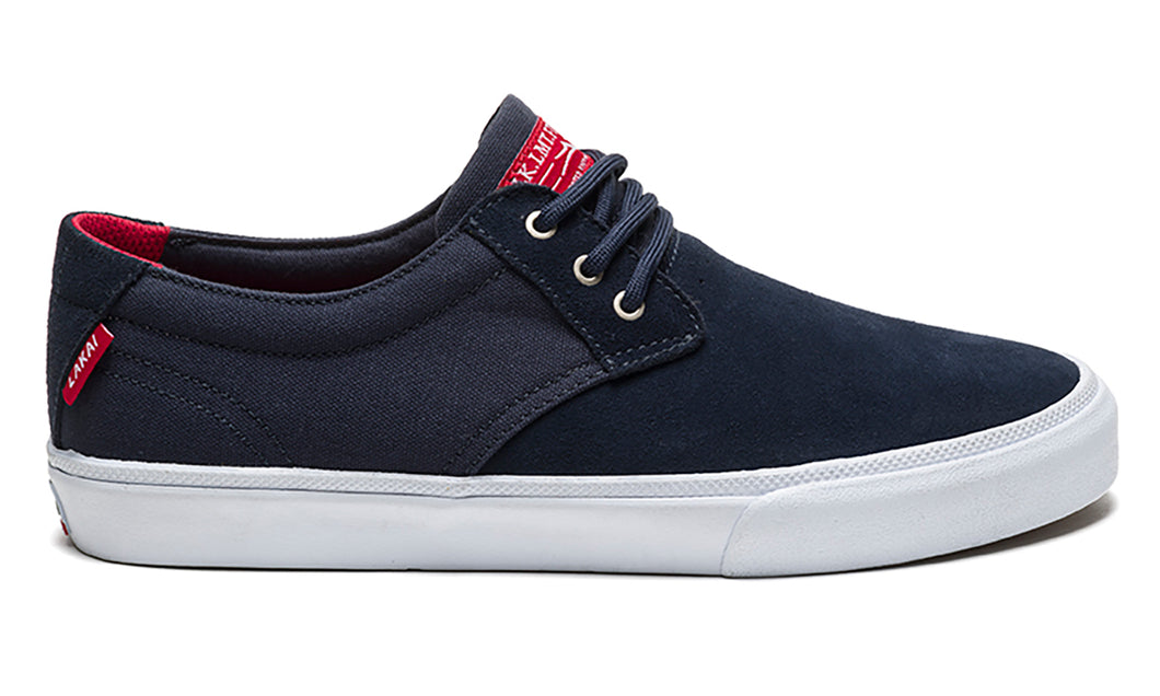 LAKAI MENS DALY NAVY SUEDE MS1180023A00-NVSDE