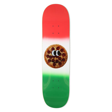 Pizza Deep Dish Deck 8.25 Skateboard Deck w/mob