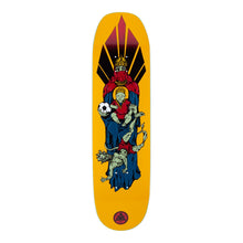 Load image into Gallery viewer, Welcome Skateboards Futbol on Moontrimmer 2.0 Gold 8.5 x 32.25 Deck w/Grip