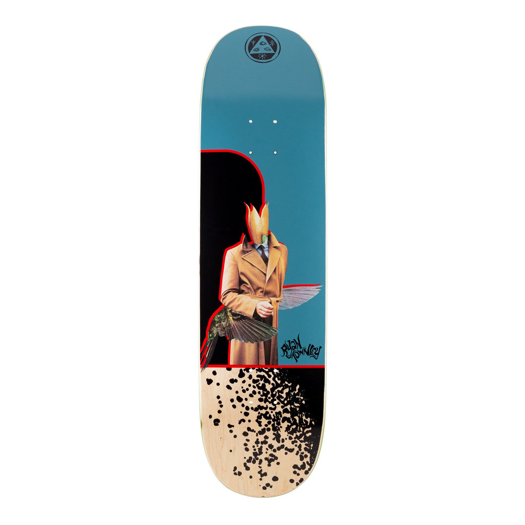 Welcome Skateboards Ryan Townley Hummingbird on Enenra Slate 8.5 x 32.38 Deck w/Grip