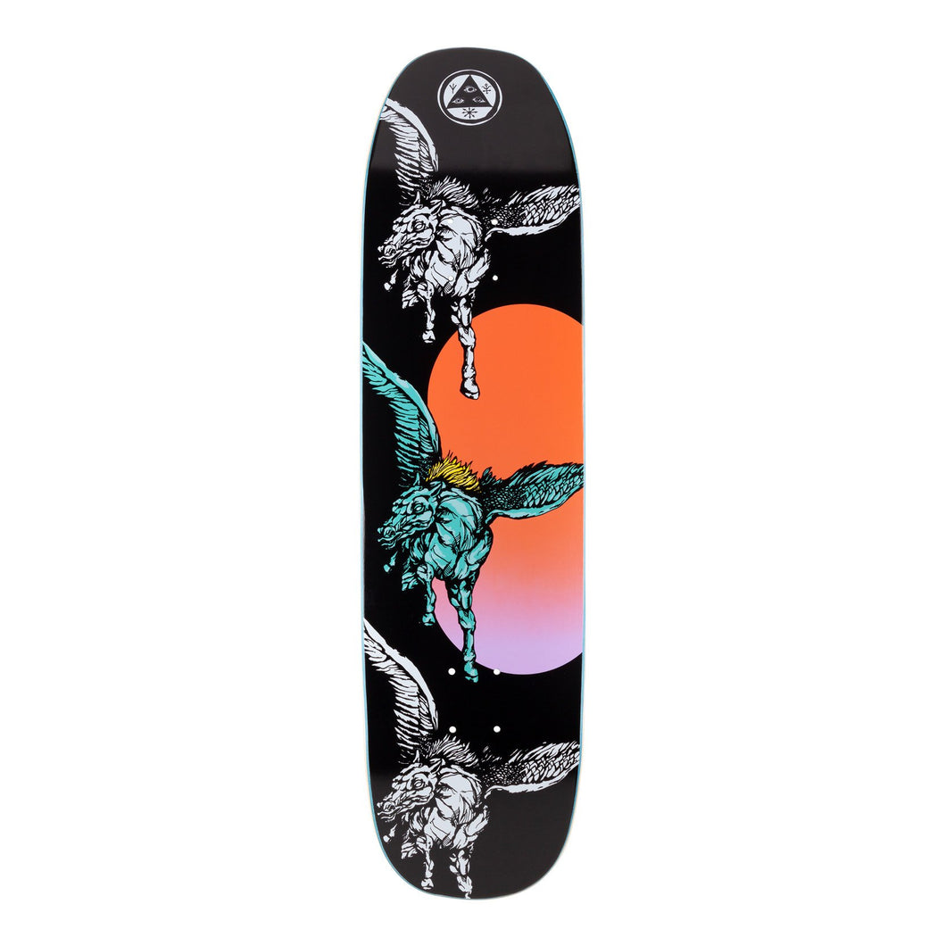 Welcome Skateboards Peggy on Son of Moontrimmer Black 8.25 x 32.125 Deck w/Grip