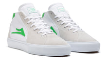 Load image into Gallery viewer, LAKAI MENS FLACO II MID White Suede MS1200113A00-WHTES