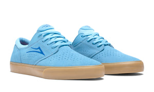 LAKAI MENS FREMONT VLC LIGHT BLUE/GUM SUEDE MS1200244A00-LBLGS
