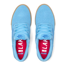 Load image into Gallery viewer, LAKAI MENS FREMONT VLC LIGHT BLUE/GUM SUEDE MS1200244A00-LBLGS