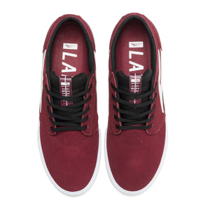 LAKAI MENS GRIFFIN BURGUNDY/BLACK SUEDE MS1190227A00-BUBKS