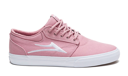 LAKAI MENS GRIFFIN PINK CANVAS MS3180227A00-PNKCN