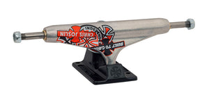 Independent Stage 11 Forged Hollow Chris Joslin Silver Black Standard Trucks