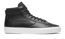 Load image into Gallery viewer, LAKAI MENS NEWPORT HIGH BLACK LEATHER MS4190253A00-BKLTR