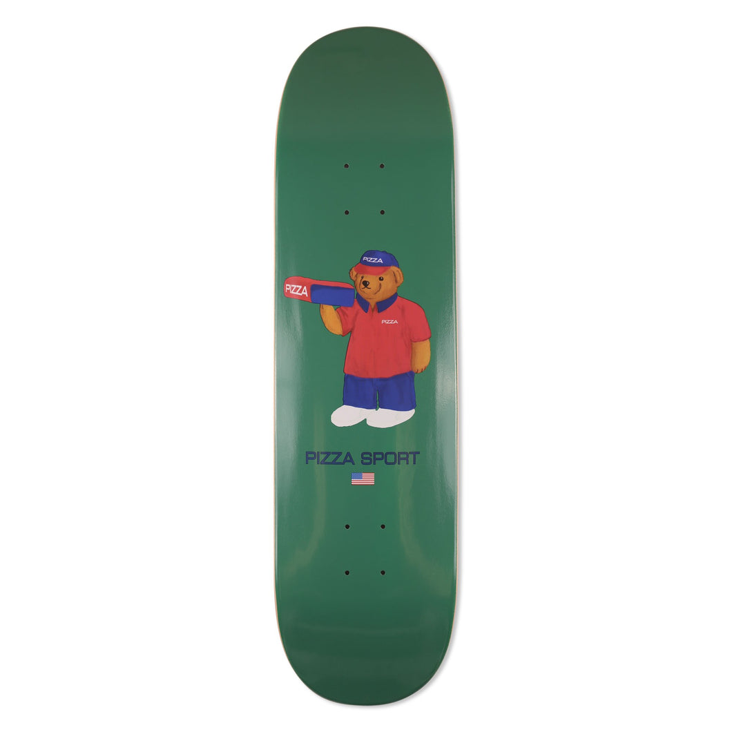 Pizza Pizza Sport Bear Deck 8.5 Skateboard Deck