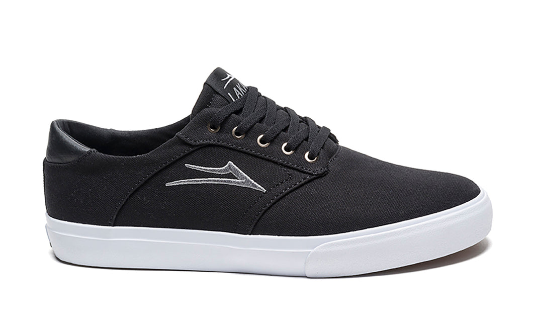 LAKAI MENS PORTER BLACK CANVAS MS4170247A00-BKCNV