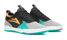 Load image into Gallery viewer, LAKAI MENS PROTO BLACK/TEAL SUEDE MS3190120B00-BKTLS