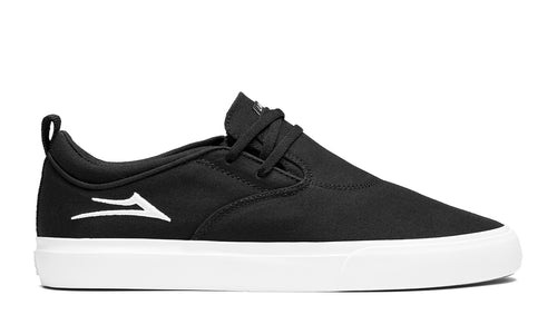 LAKAI MENS RILEY 2 BLACK CANVAS MS3190091A00-BKCNV