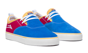 LAKAI MENS RILEY 2 BLUE/RED/YELLOW MS2190091A03-BLRDY