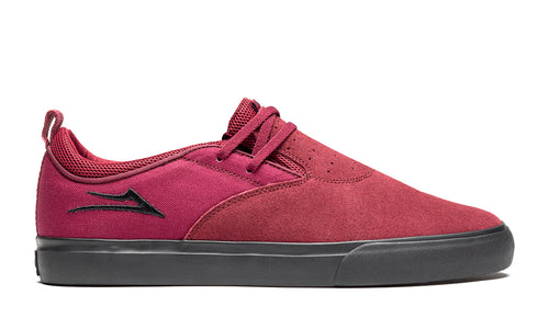 LAKAI MENS RILEY 2 BURGUNDY/BLACK SUEDE MS3190091A00-BUBKS