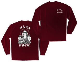 HARD LUCK MFG. Rosas LONG SLEEVE T-SHIRT